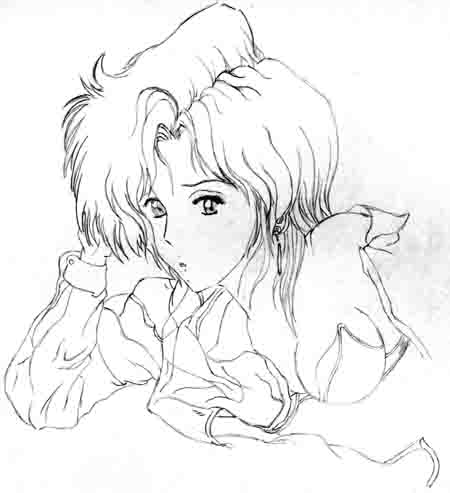 some anime girl done in '91