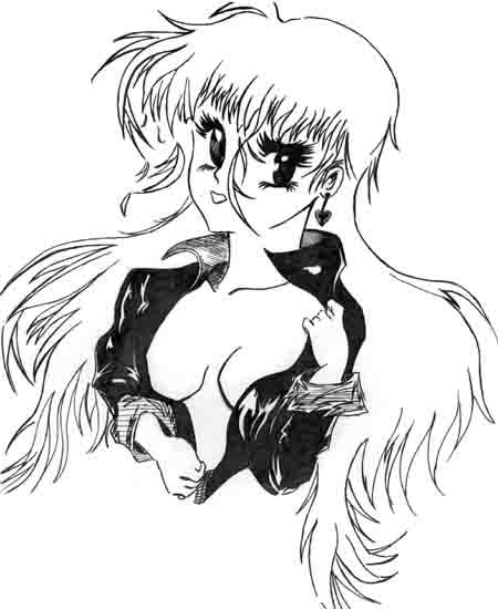 anime girl done back in '96