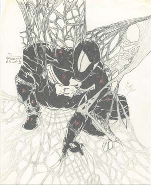 spiderman aka peter parker done in '91