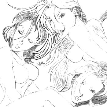 slightly erotic nature in the pic i did back in 99